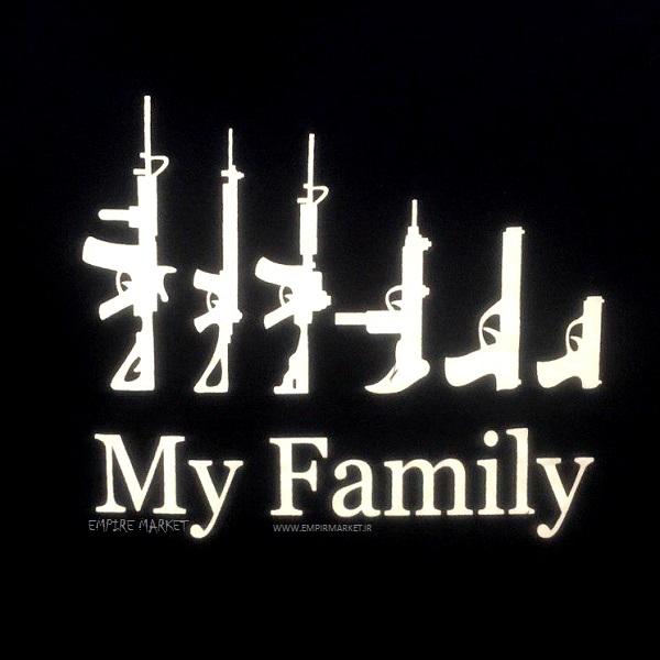 تیشرت بلو استار مدل My Family