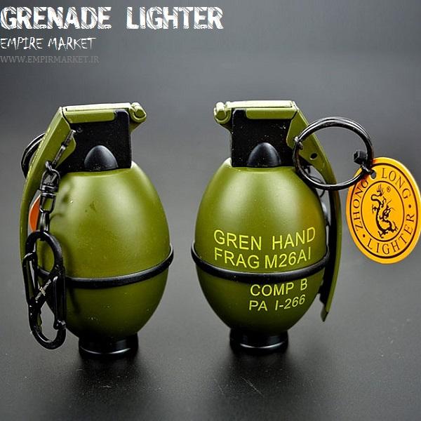 فندک طرح نارنجک فانتزی GRENADE LIGHTER