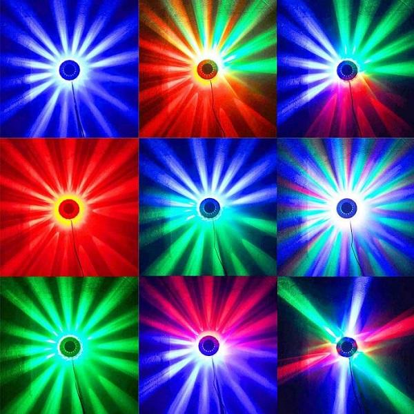 دستگاه رقص نور LED مدل آفتاب گردان