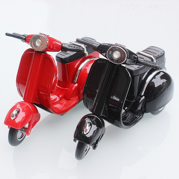 ماکت موتورسیکلت وسپا دکوری فندک دار Motorcycle Lighter