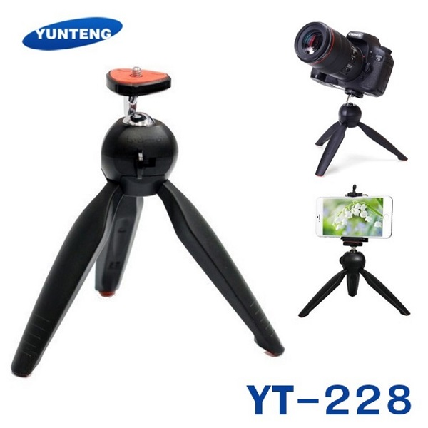 سه پایه عکاسی یانتنگ YUNTENG YT-228