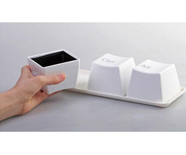 ست لیوان 3عددی طرح کیبورد Keyboard cups