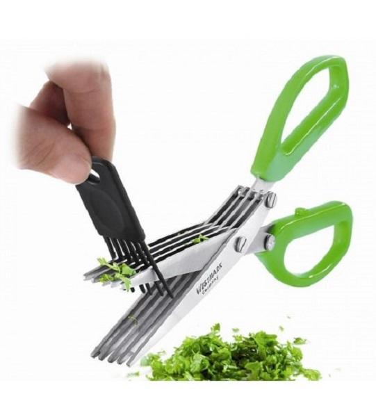 قیچی خرد کننده سبزیجات (پنج تیغ حرفه ای)