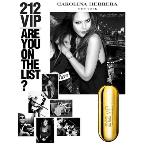 عطر زنانه وی آی پی کارولینا هررا 212 VIP
