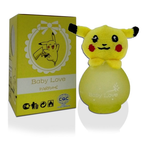 عطر کودک عروسکی پوکمون پیکاچو Baby Love (بچگانه)
