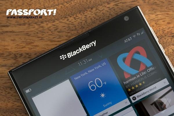 موبایل هوشمند بلک بری پاسپورت BLACKBERRY PASSPORT