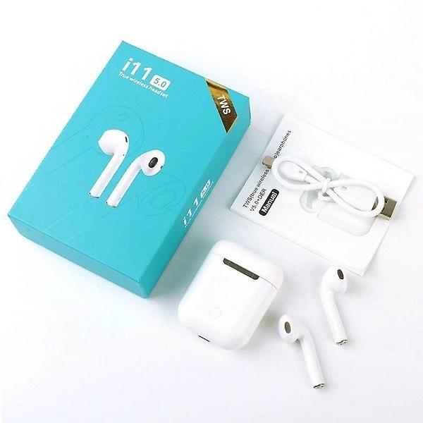 ایرپاد لمسی دو گوش وایرلس TWS i11 5X (مدل اپل)