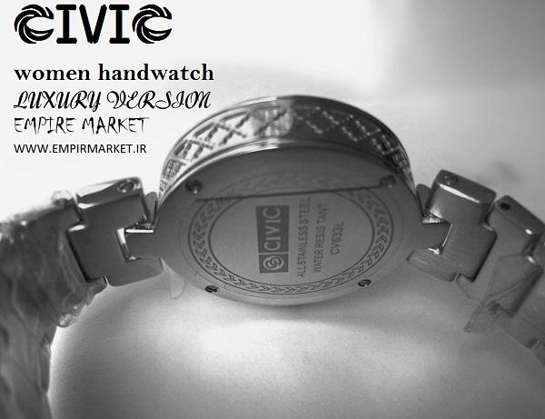 ساعت مچی فول استیل گلد زنانه سیویک CIVIC (ساخت ژاپن)