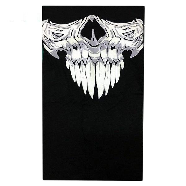 اسکارف شبرنگ طرح خون آشام  (دستمال سر)