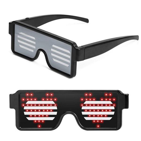 عینک LED هوشمند SL-003 (فانتزی)