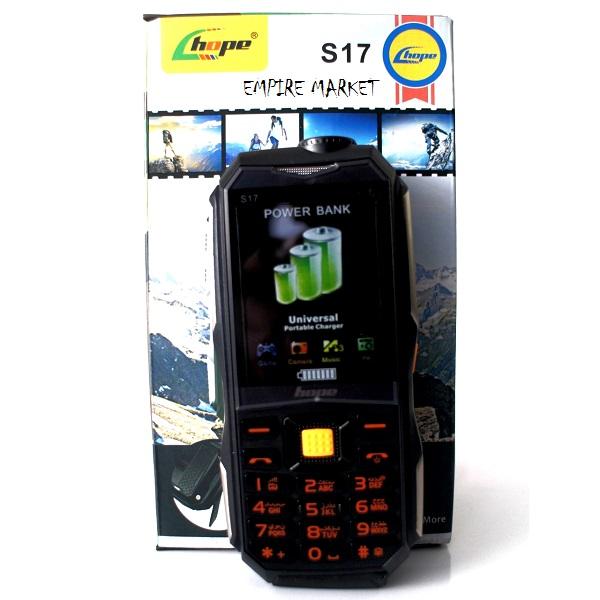 گوشی موبایل زرهپوش و ضدآب هوپ HOPE S17