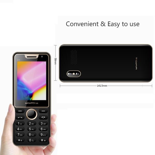 گوشی موبایل مکسفون MAXFONE V1 (3سیمکارته)