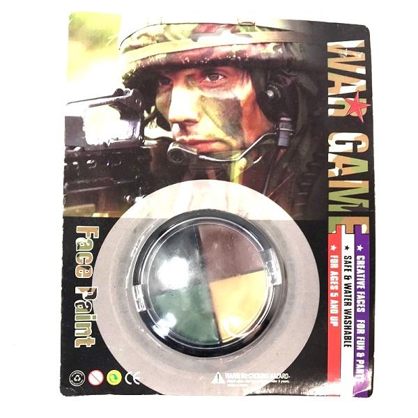 فیس پینت استتار چریکی نظامی (کرم استتار چهره)