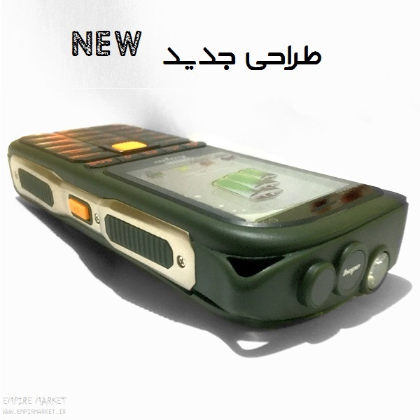 گوشی موبایل زرهپوش 4سیمکارته هوپ HOPE K2000