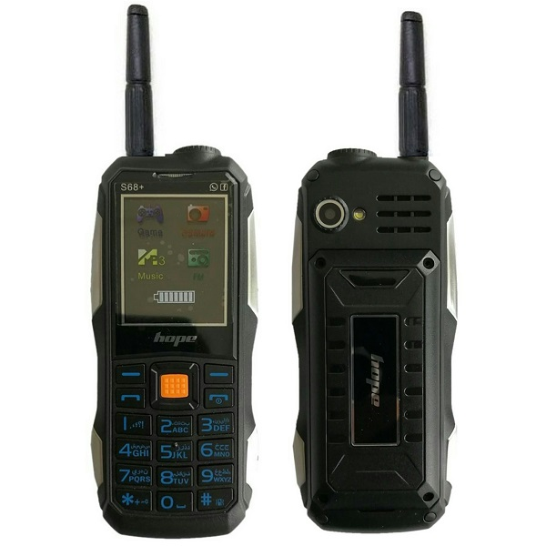 گوشی موبایل زرهپوش هوپ پلاس +HOPE S68