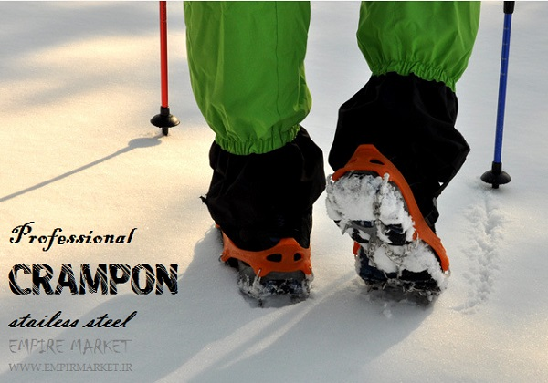 کرامپون (یخشکن) هشت شاخ کوهنوردی حرفه ای Crampon