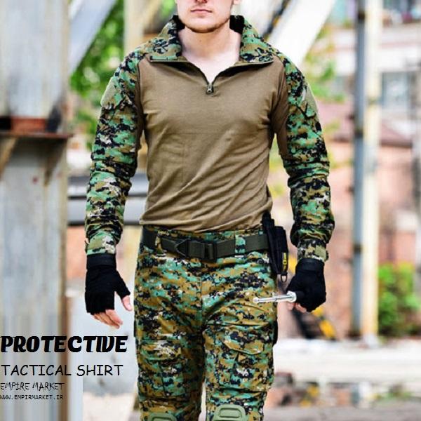 تیشرت آستین بلند تاکتیکال پروتکتیو نانو PROTECTIVE PR-3552