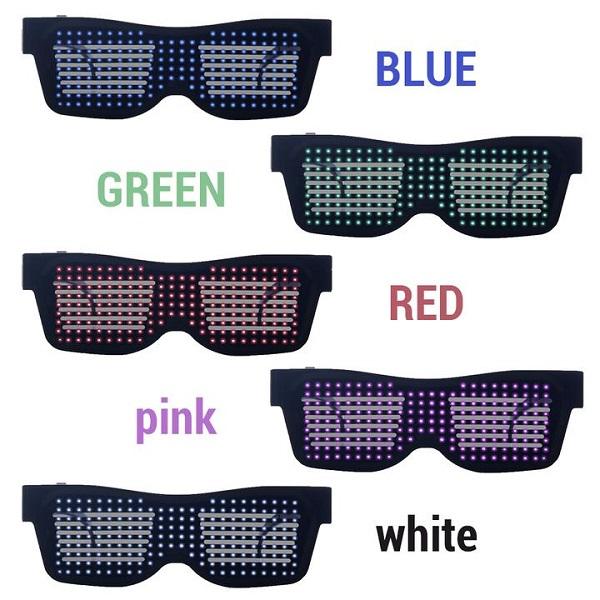 عینک هوشمند LED بلوتوثی Magic SL-004