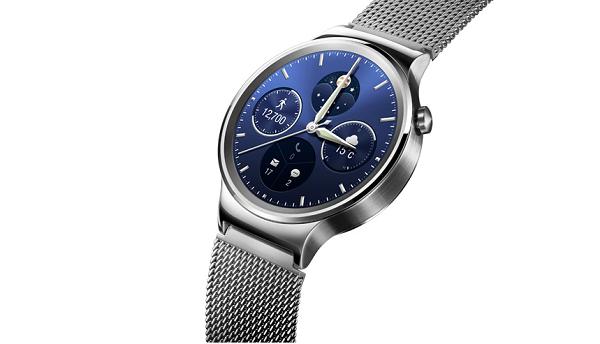 ساعت هوشمند تمام فلزی نقره ای HUA WATCH 1.4inch