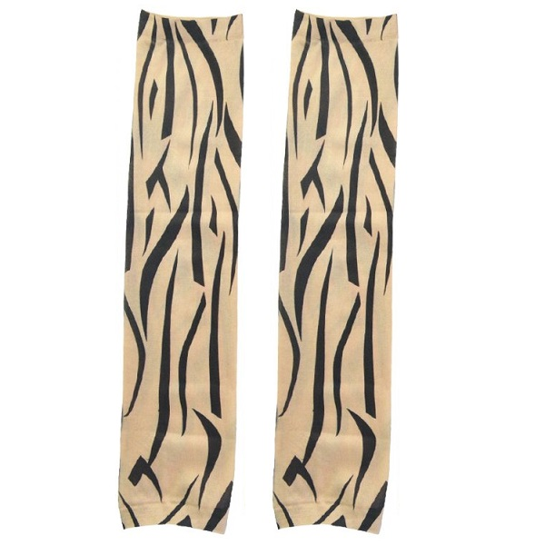 ساق دست طرح تتو مدل خطوط منحنی