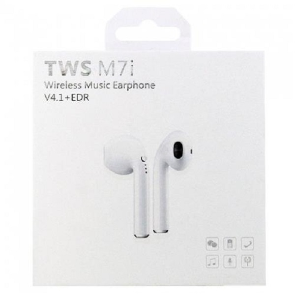 ایرپاد (هندزفری) دو گوش وایرلس بلوتوث TWS M7i (مدل آیفون)