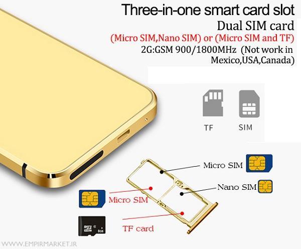 گوشی موبایل کارت فون تاچ ULCOOL V36