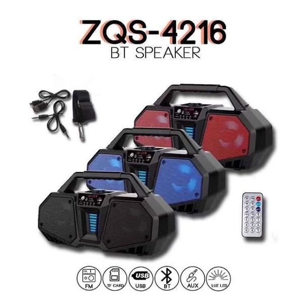 اسپیکر بلوتوثی ZQS-4216 حرفه ای (سایز بزرگ)