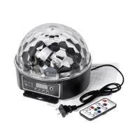 دستگاه رقص نور LED کروی برقی (قابلیت پخش موزیک)