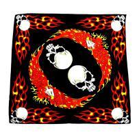 دستمال باندانا طرح Bandana Skull(دستمال گردن آمریکایی)