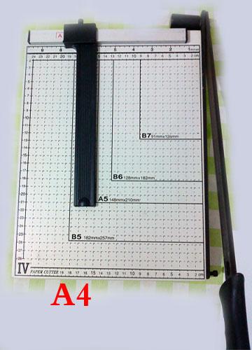 برش کاغذ A4 ( کاتر مدل : 4 - Paper Cutter 829)