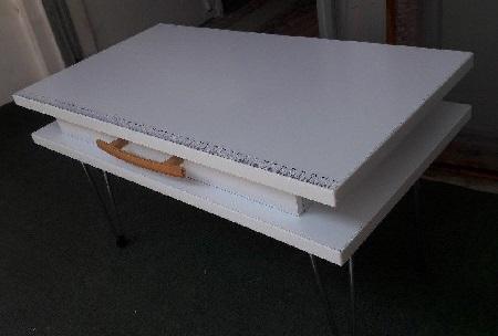 میز چرخ خیاطی تاشو (فروش ویژه)