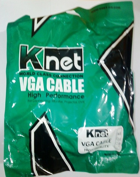 کابل 5 متری vga  (Knet)