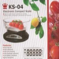 توضيحات ترازوی آشپزخانه مدل KS-04 دیجیتال
