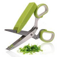 قیچی 10 تیغه سبزی خردکن scissors
