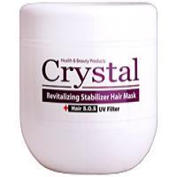 ماسک تثبیت کننده رنگ مو با آبکشی کریستال