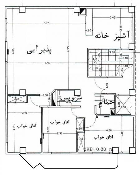 مجموعه پلانهای طراحی ساختمان - معماری:3 دی وی دی