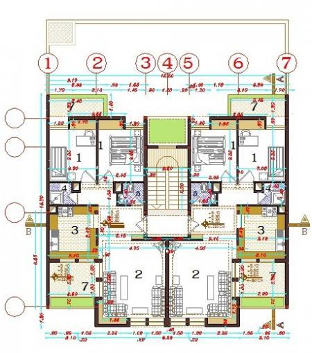 پکیج 1000 نقشه ساختمان مسکونی قابل اجرا