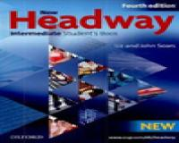 New Headway Intermediate, Student Book & Work book + 2CD, 1DVD (4Ed)