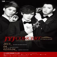 اجرای کنسرت گروه جی وای جی JYJ in Tokyo Dome 2013