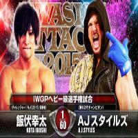 NJPW Invasion Attack 2015