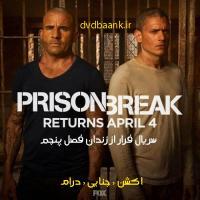 سریال فرار از زندان پنج فصل (پایان فصل 5)