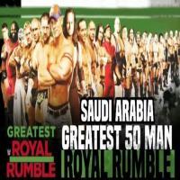 Royal Rumble Match 50 Saudi 2018