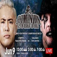 NJPW Dominion 6.9 In Osaka Jo Hall 2019