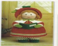 دختر آوازه خوان کریسمس