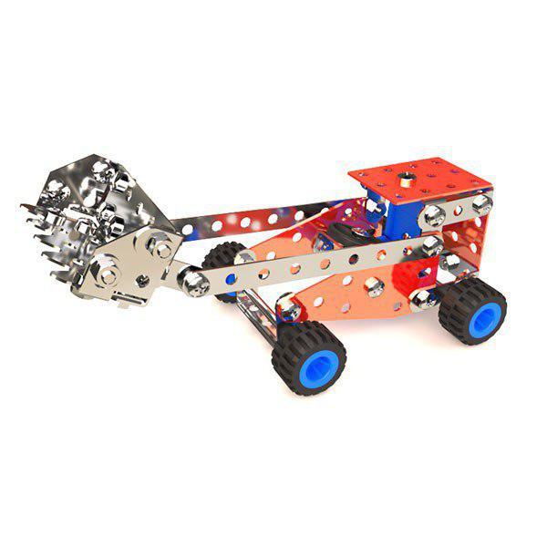سازه فلزی طرح بیل مکانیکی