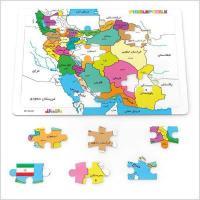 پازل رنگ آمیزی نقشه ایران