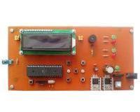 کنترل رطوبت و دما با نمایشگر LCD کاراکتری