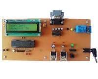 کنترل دما با مانیتورینگ روی کامپیوتر از طریق پورت RS232