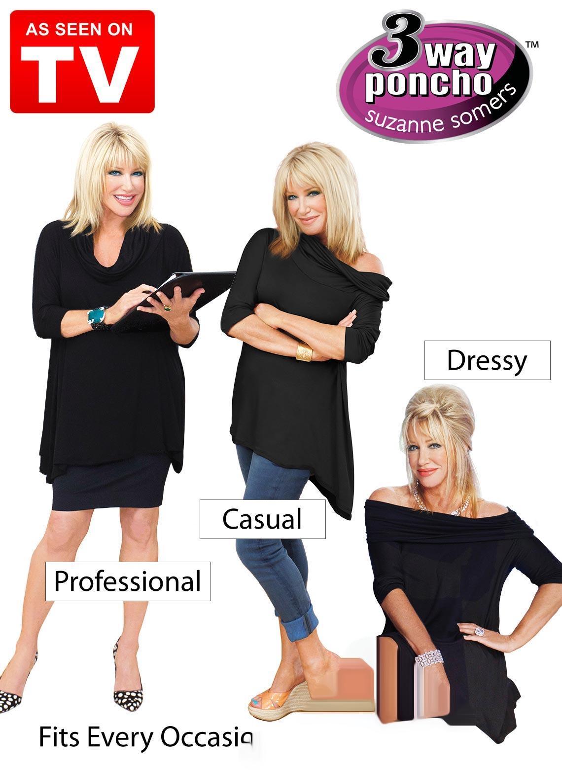 لباس سه حالته پانچو