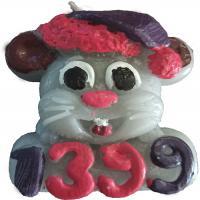 شمع سفره هفت سین طرح موش